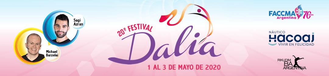 20° Festival Dalia - 1 al 3 de Mayo de 2020